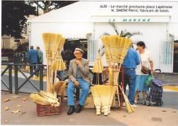 ALBI (Tarn)  - 28è Salon De La Carte Postale Du 20 Mars 2005 - Pierre SIMIONI Fabricant De Balais - Bourses & Salons De Collections