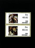 IRELAND/EIRE - 2010 CHRISTMAS  SELF ADHESIVE  SET  MINT NH - 1949-... Repubblica D'Irlanda