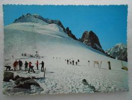 CP 74 Ski D´été Aux GRANDS MONTETS - Les Champs De Neige En Juillet - Au Pays Du Mont Blanc 14814 - Chamonix-Mont-Blanc