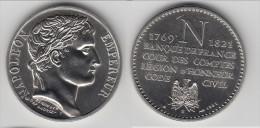 **** MEDAILLE NAPOLEON EMPEREUR 1769-1821 BANQUE DE FRANCE...CODE CIVIL **** EN ACHAT IMMEDIAT !!! - Royaux / De Noblesse