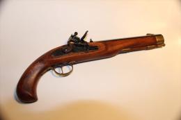 Pistolet Silex KENTUKY - Armes Neutralisées