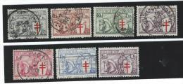 Belgie   ...   OBP    ....      394/400      ....  O  .....  Gebruikt  ... Oblitere  ...  Cancelled  ...  Gebraucht - Used Stamps