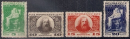 Russia 1934, Michel Nr 476-79, MH OG, But - Unused Stamps