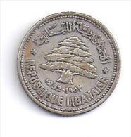 LIBAN - 50 Piastres  1952 - Liban
