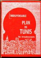 L'indispensable Plan De Tunis Par Arrondissements - Monde