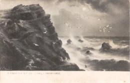 G.E. Newton - Rough Sea Off The Lizard In Cornwall -  Series 811 - Newton