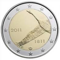 ** 2 EUROS COMMEMO. FINLANDE 2011 PIECE NEUVE ** - Finlandía