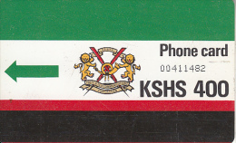 KENYA(Autelca) - K.P.T.C. Logo(no Notch And T Under The Arrow) KSHS 400, Used - Kenia