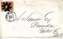 U.S. 94  F GRILL  9X13  NEW  YORK  FANCY Cd. - 1847-99 General Issues