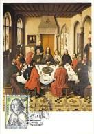 BELGIQUE   EUROPA CEPT 1975 NUM YVERT 1757 PEINTURE  TABLEAU DIERIC BOUTS - 1975
