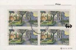 Italy-1991 San Gregorio Used Block Of 4 - 6. 1946-.. Republic