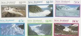 New Zealand-1992 Glaciers Set MNH - Blocks & Sheetlets