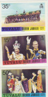 Tuvalu 1977 Silver Jubilee Set MNH - Tuvalu