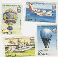 Tuvalu 1983 First Manned Flight Bicentenary MNH - Tuvalu