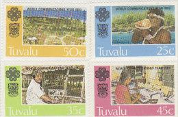 Tuvalu 1983 World Communication Day Set MNH - Tuvalu