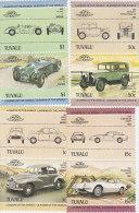 Tuvalu 1984 Cars Set MNH - Tuvalu