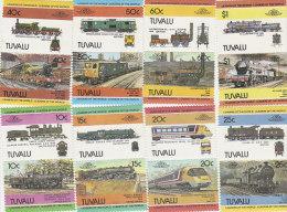Tuvalu 1984 Trains Part 2 Set MNH - Tuvalu