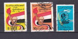 Libye Année 1970 1971 N°294 333 334 (Michel) - Libië