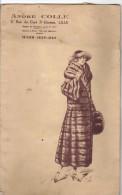LILLE RARE Andre Colle 9 Rue Du Cure St Etienne  HIVER 1923 1924 AVEC PHOTOS Voir Scan - Documenti Storici