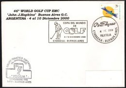 ARGENTINA BUENOS AIRES 2000 - 46th WORLD GOLF CUP EMC - Golf