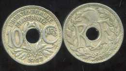 FRANCE  10 Centimes 1927    LINDAUER - D. 10 Centimes