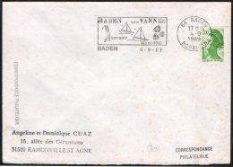 SAILING / OYSTERS - FRANCE BADEN 1989 - BADEN PAYS DE VANNES - SON GOLF - SES HUITRES - FLAMME - Golf