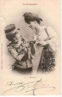CPA Couple Femme Femmes Amoureuses  La Marguerite Beaucoup - Couples