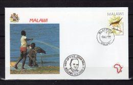 1989 : VOYAGES DU PAPE JEAN PAUL II / MALAWI Pope John Paul II  PAPA Jonas Paulius Giovanni Paolo II - Malawi (1964-...)