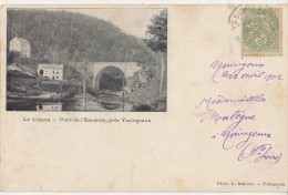 CPA 43 LE LIGNON Près Yssingeaux Pont De L'Encointe 1902 - France