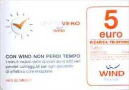 Ricarica Wind Da € 5,00 Minuto Vero - 31.12.2016 - Schede GSM, Prepagate & Ricariche