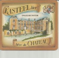 SOUS BOCK  Biere Du CHATEAU  KASTEEL Bier  Ingelmunster  18cm / 15cm - Liqueur & Bière