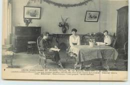 PARIS  - Union Chrétienne De Jeunes Filles,le Salon;  40 Rue Boulard Paris. - Distretto: 14