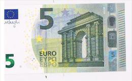 Italia 2013 Nuova Banconota 5 EURO - S006A5 -Emessa 2 Maggio 2013 FDC  Nuova** Integra Mai Circolata - EURO