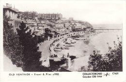 Real Photo Postcard Front & Pier VENTNOR Isle Of Wight Pamlin RP C1621 - Ventnor