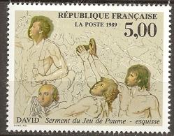 France  N°2591   Serment Du Jeu De Paume Par David - Unused Stamps