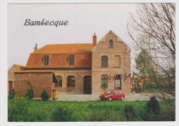BAMBECQUE - LA MAIRIE AVEC CITROEN AX - Ed. A. A TOURCOING - CARTE NON VOYAGEE - Francia
