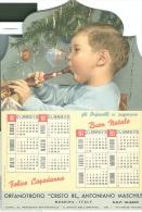 CALENDARIO ANTONIANO, 1961, MESSINA, 3 FACCIATE  APRIBILE, - Calendari