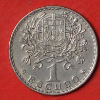 PORTUGAL  1  ESCUDOS  1966   KM# 578  -    (Nº03140) - Portugal