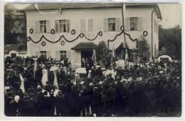 Feier Zur PRIESTERWEIHE In Der Gemeinde Mondsee, Fotokarte Von Josef Gastberger - Inaugurazioni