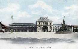 03-VICHY-La Gare-animée - Vichy