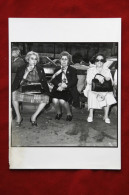 Photo Alain Lonchampt - Grand Mères Abuelas Grandmothers - Print Circa 1980 - Vintage Photography - Andere