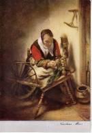 Amsterdam – Rijksmuseum   The Spinner – Nicolaes Maes - Museos