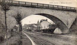 CPA  -   GIEN   (45)    Avenue De La Gare . - Gien