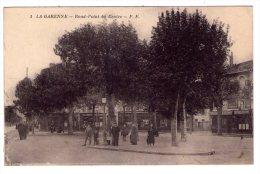 La Garenne  Rond Point Du Centre  - Scan Recto-verso - La Garenne Colombes