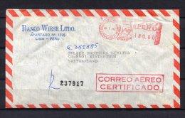 Peru, Lima,  1981 ,EMA, Freistempel, - Peru