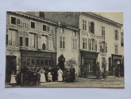 Pagny Sur Moselle : Un Coin De La Rue De Serre , Café. - Altri Comuni