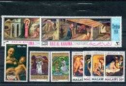 NAT001 - AUSTRALIA MALAWI TEMATICA NATALE - Natale