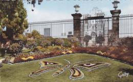 CARTE POSTALE ANCIENNE,AVRANCHES EN 1960,MANCHE,PAPILLON,JARDIN DES PLANTES,GRAND PORTAIL