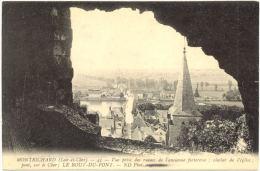 41/CPA - Montrichard - Vue Prise Des Ruines De L'ancienne Forteresse - Montrichard