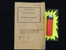 MANUEL SOLDAT U.S. - SOLDIER'S HANDBOOK 1941